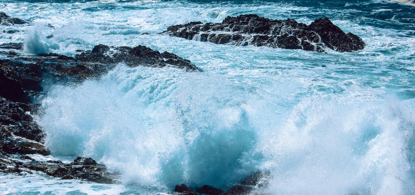 Le spectacle des grandes marées-Les Pieds dans l'Eau
