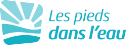 Les Pieds Dans L'eau : Lpdl Logo Monochrome Bleu Grand
