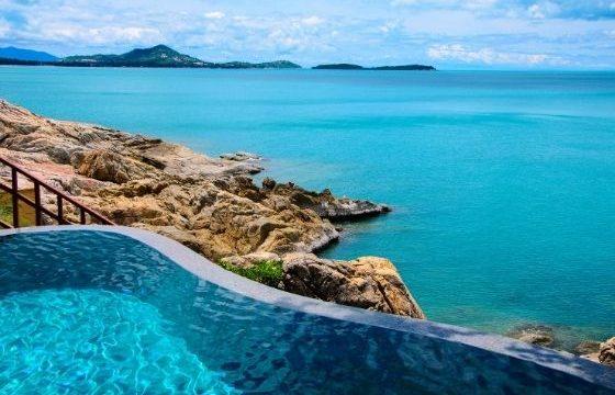 Hotel avec piscine bord de mer