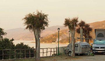 Camping Rais Gerbi-emplacement vue mer-Les Pieds dans l'Eau
