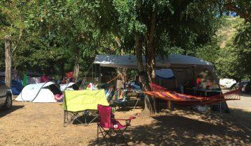 Camping Arleblanc - Ardèche - emplacement