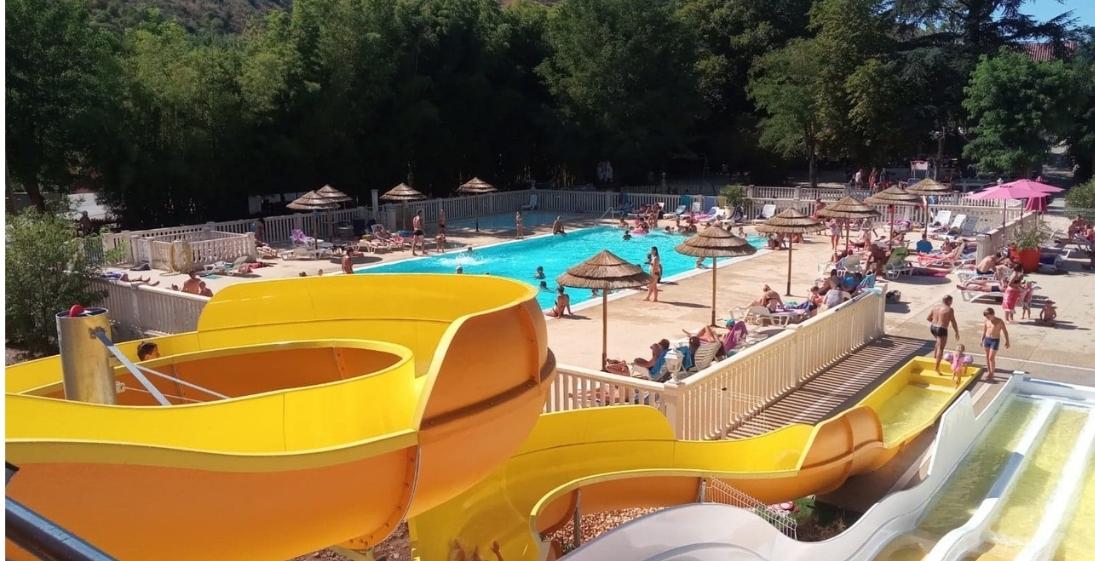 Camping Arleblanc - Ardèche - piscine