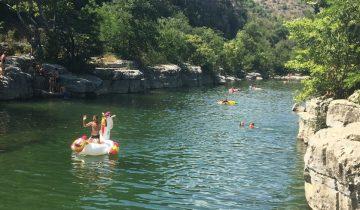 Camping Arleblanc - Ardèche - riviere - 2