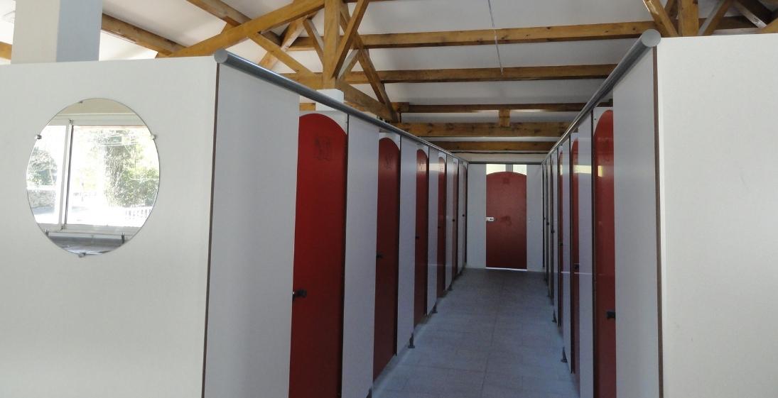 Camping Arleblanc - Ardèche - sanitaire