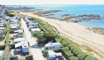 camping La Falaise - La Turballe - bord de mer