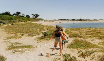 Camping Les Flots Atlantique-accès direct à la plage-Les pieds dans l'eau