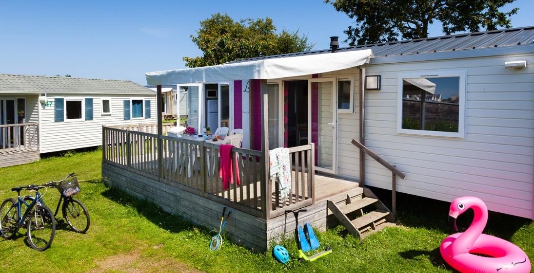 Camping Ar Kleguer - Bretagne - mobilhome