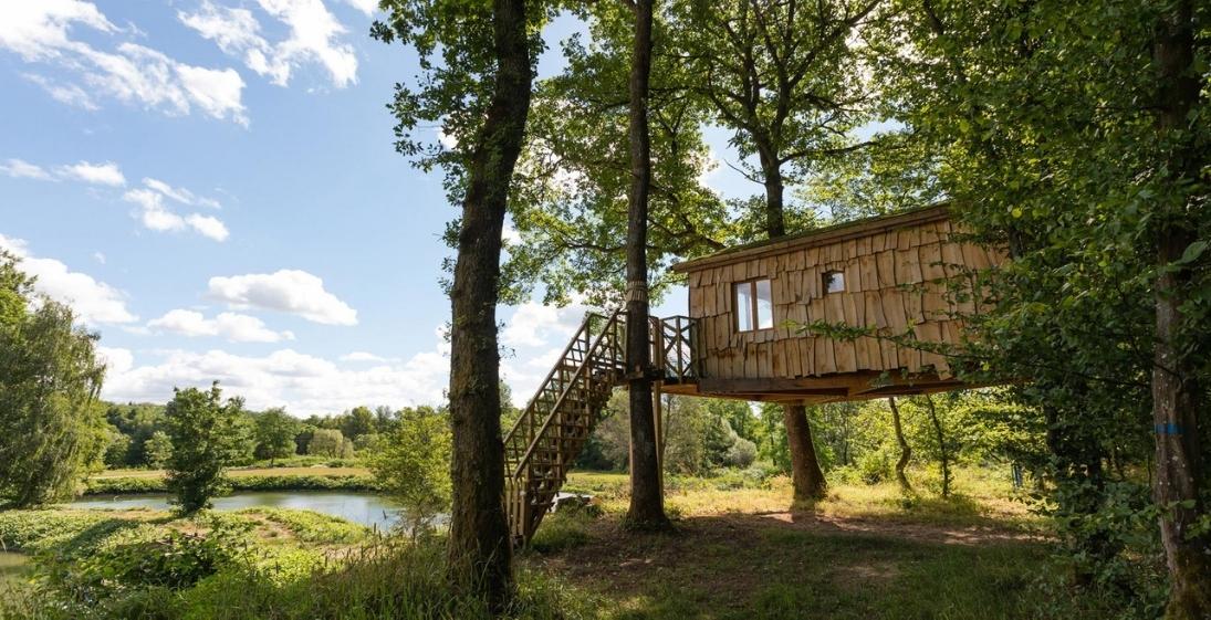 Camping les Castors Alsace - cabane