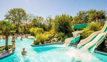 Camping Le Fanal - Parc aquatique - Les pieds dans l'eau
