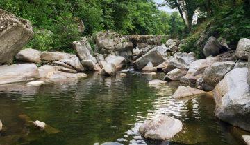 Les Pieds Dans L'eau : Camping Saledrinque Riviere 3