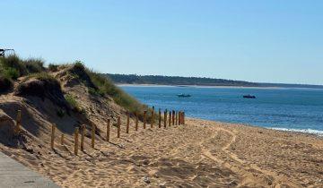 Camping La Perroche Plage Oleron - bord de mer