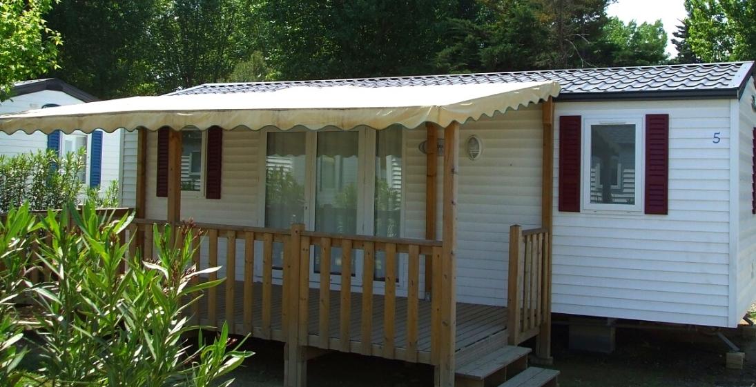 Camping La Perroche Plage Oleron - mobilhome