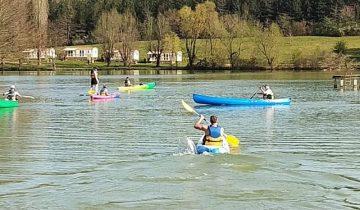 Les Pieds Dans L'eau : Lac Negenou - canoe
