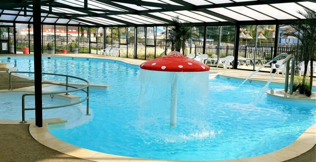 La Vallée de Deauville - piscine