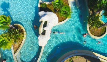 La Vallée de Deauville - piscine extérieure