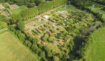 Camping Dordogne Verte-vue aérienne-Les pieds dans l'eau2