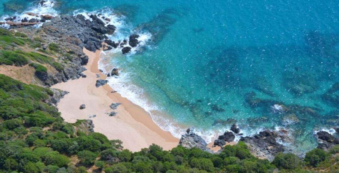 Les Pieds Dans L'eau : Camping Esplanade Corse Plage