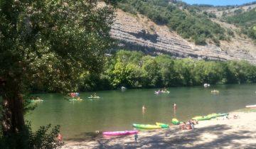 Camping Bonhomme - Rivière - Les pieds dans l'eau2
