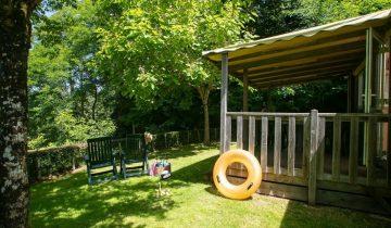Camping La Chatonnière - Locatif 2 - Les pieds dans l'eau