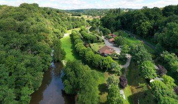 Camping La Chatonnière - vue aérienne - Les pieds dans l'eau2