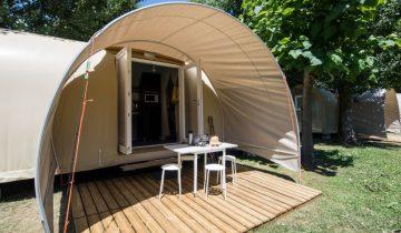 Camping Le Gibanel - Coco Sweet - Les pieds dans l'eauLes Pieds Dans L'eau : Camping Le Gibanel Coco Sweet Les Pieds Dans L'eau