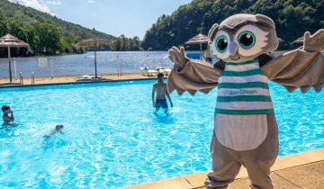 Camping Le Gibanel - Mascotte - Les pieds dans l'eau