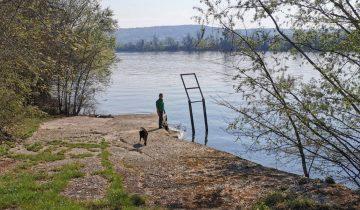 Camping Loisirs des Groux - Ponton - Les pieds dans l'eau
